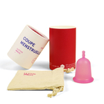 P'tite Minote, cup menstruelle souple pour flux léger à moyen - MÏU