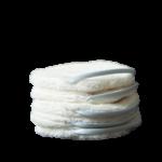5 pancakes Bleu - Paulette zéro déchet