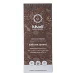 Coloration végétale naturelle aux plantes ayurvédiques - Châtain cendré - Khadi