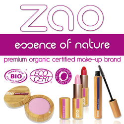 Zao Make-up sur Doux Good, maquillage 100% naturel