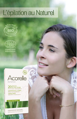 Acorelle, l'épilation au naturel