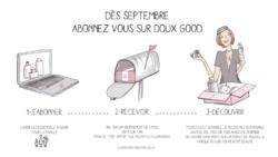 Des septembre, abonnez-vous sur Doux Good
