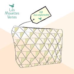 Les Mouettes Vertes - accessoires beauté en coton bio certifié GOTS - sur Doux Good