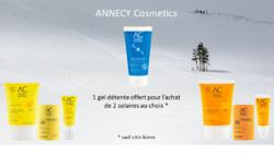 Annecy Cosmetics - 1 gel détente offert pour l'achat de 2 solaires - Sur Doux Good