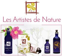 Logo Les artistes de nature