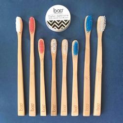 Boo, les brosses à dents en bamabou