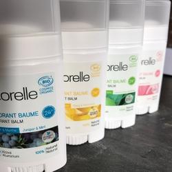 Les déodorants bio sans sels d'aluminium Acorelle sur Doux Good