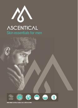 Ascentical, les soins pour homme bio et éco-responsables