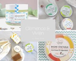 Clémence et Vivien- les cosmétiques solides bio made in France sur Doux Good