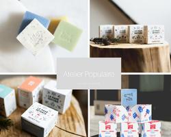 Atelier Populaire - savon saponifié à froid made in Paris sur Doux Good