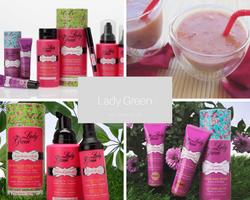Lady Green - cosmétiques bio pour peaux jeunes sur Doux Good