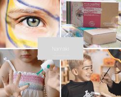 Namaki-maquillage bio enfant sur Doux Good