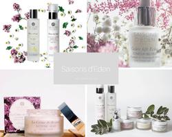 Saisons d'Eden-les soins visage bio adaptés aux saisons sur Doux Good