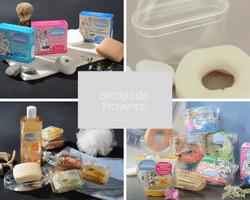 Secrets de Provence - shampoing solide et savon bio sur Doux Good