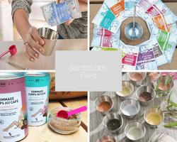 Secrets des Fées-cosmétiques bio en poudre DIY sur Doux Good