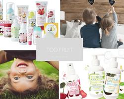 TOO FRUIT - cosmétiques bio enfants sur Doux Good