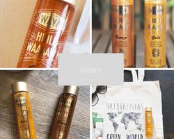 Waam-huiles végétales bio sur Doux Good