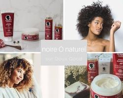 Noire Ô naturel, pour les cheveux frisés et crépus