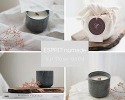 Bougies ESPRIT nomade sur Doux Good-min