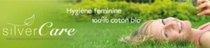 Silvercare l'hygiène féminine 100% coton bio