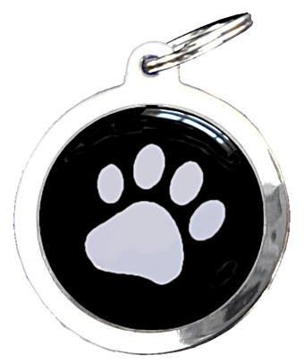 Empreinte Patte De Chien médaille chien figurine empreinte patte 2.5 cm - médailles chien