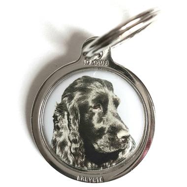 medaille_chien_cocker_noir