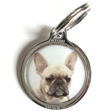medaille_chien_bouledogue_francais_brun