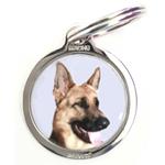 Médaille chien figurine BERGER ALLEMAND