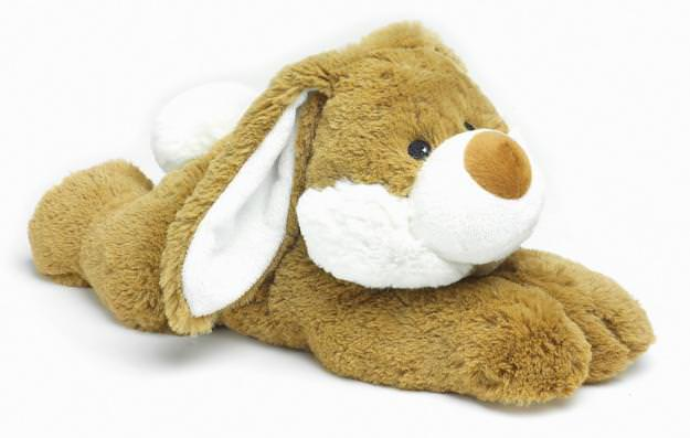 Peluche chauffante Lapin couché