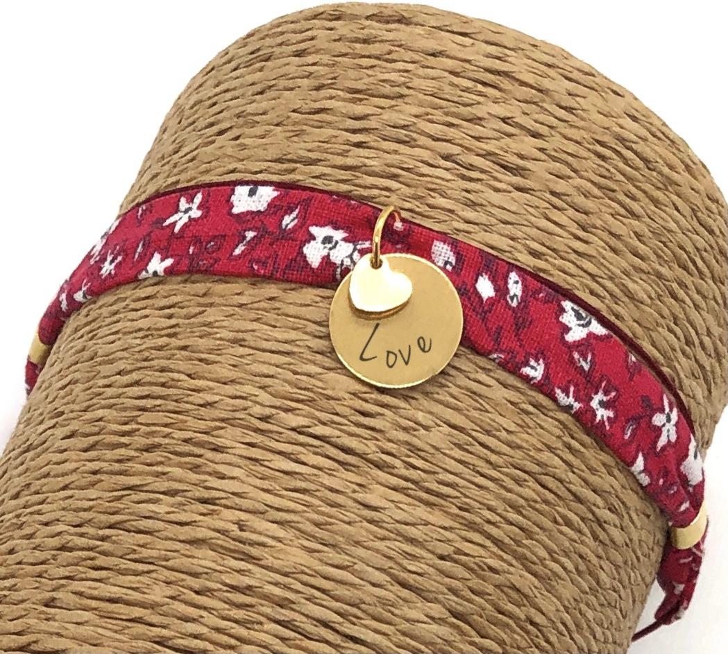 Bracelet personnalisable en tissu