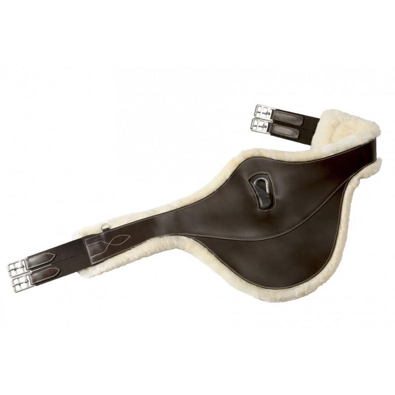 Sangle bavette RIDING WORLD Doublée mouton