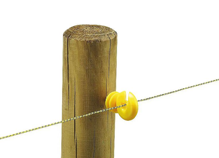 Isolateur Annulaire jaune Sachet de 25
