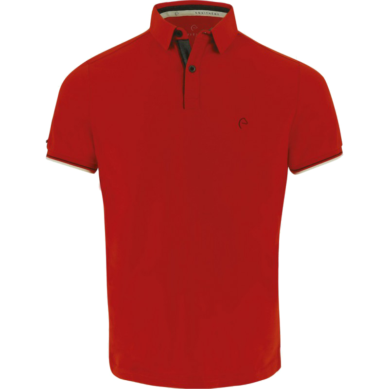 Polo jersey EQUITHÈME Homme