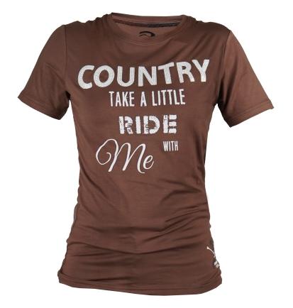 Tee shirt équitation Minka