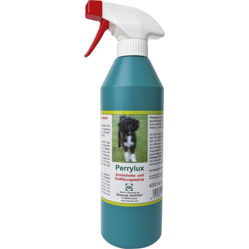 PERRYLUX Spray brillant pour le pelage du chien