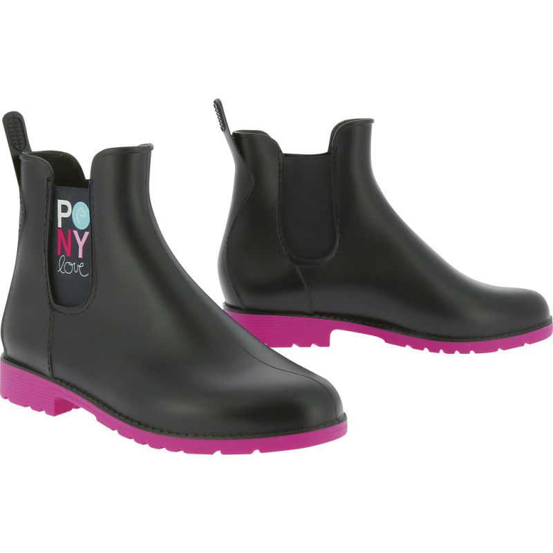 Boots synthétiques EQUI-KIDS Pony Love