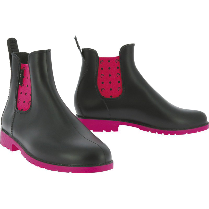 Boots synthétiques EQUITHEME Pois