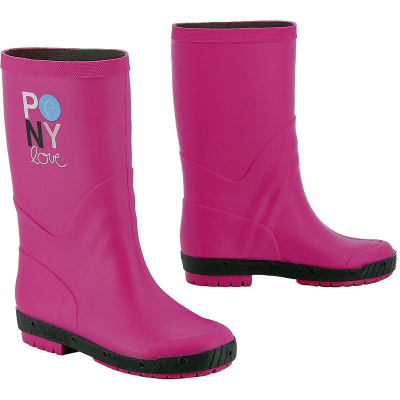 Bottes synthétiques EQUI-KIDS Pony Love