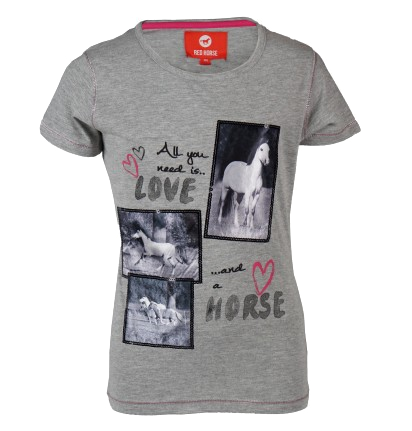Tee-shirt Love and Horse enfant