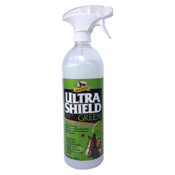 Ultrashield Green ABSORBINE Anti mouches