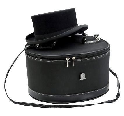 Boîte de transport pour chapeau d\'équitation