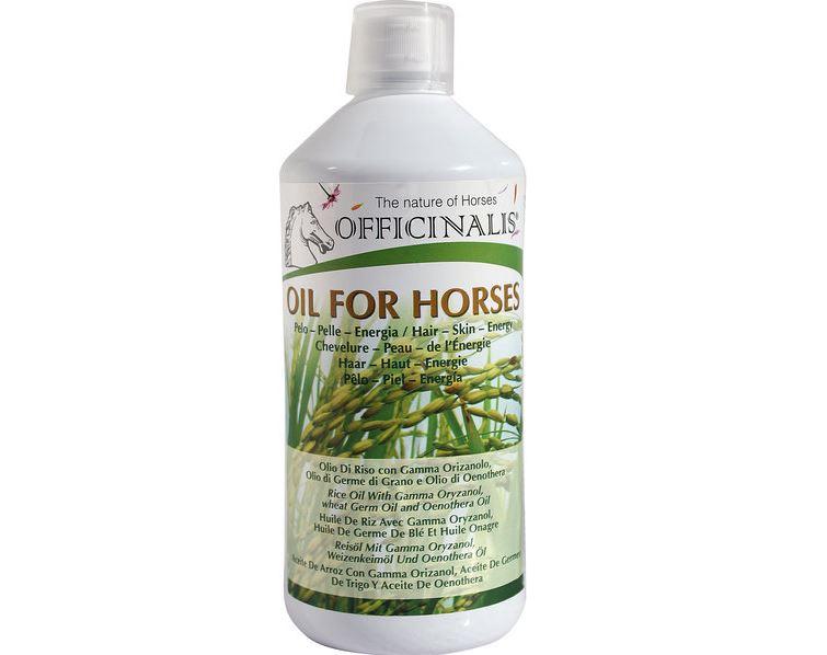 Aliment complémentaire OFFICINALIS Huile pour chevaux
