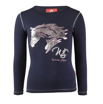 Tee-shirt enfant manches longues Flash Winter Style