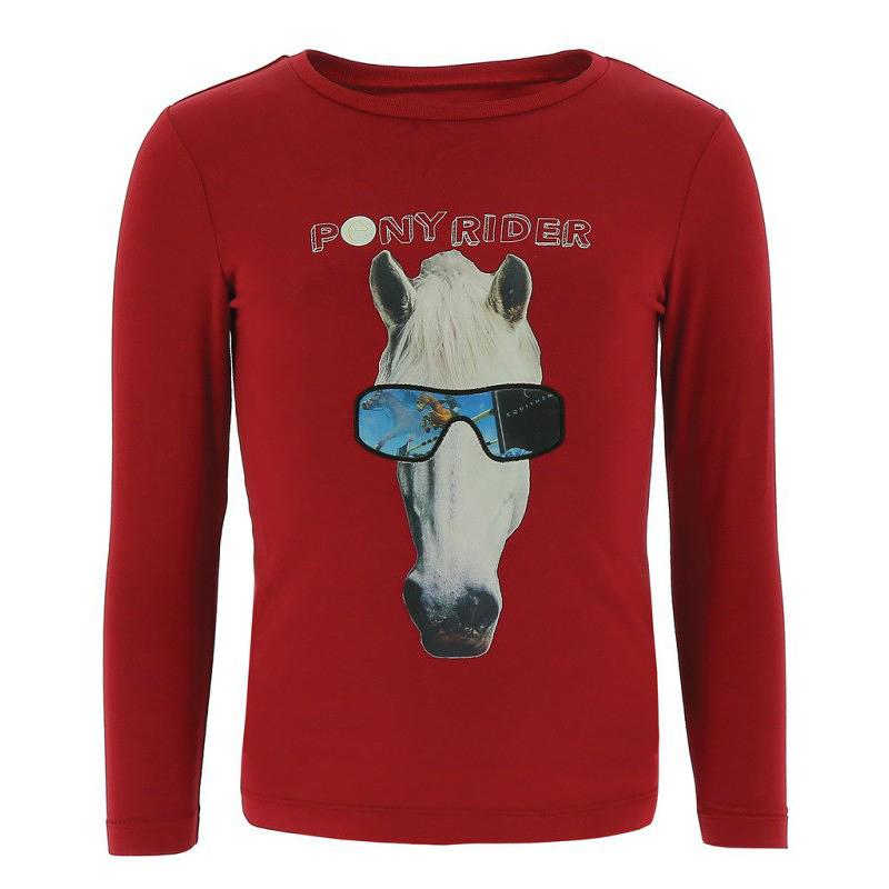 T-shirt EQUI-KIDS PonyRider avec hologramme
