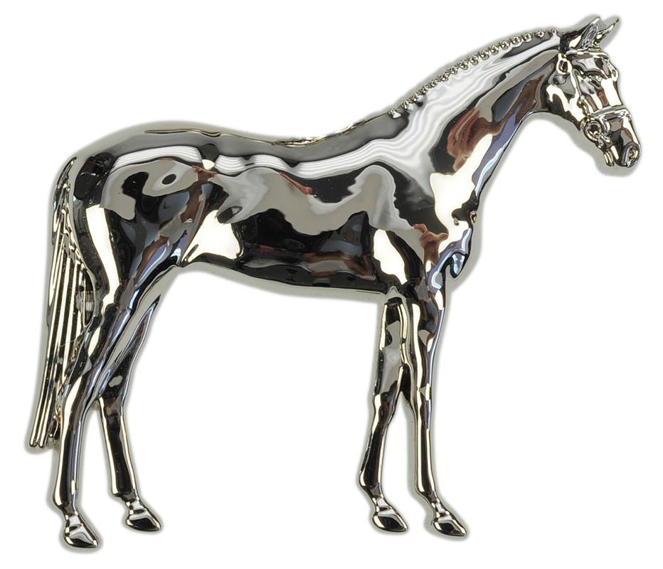 Broche 3D Cheval