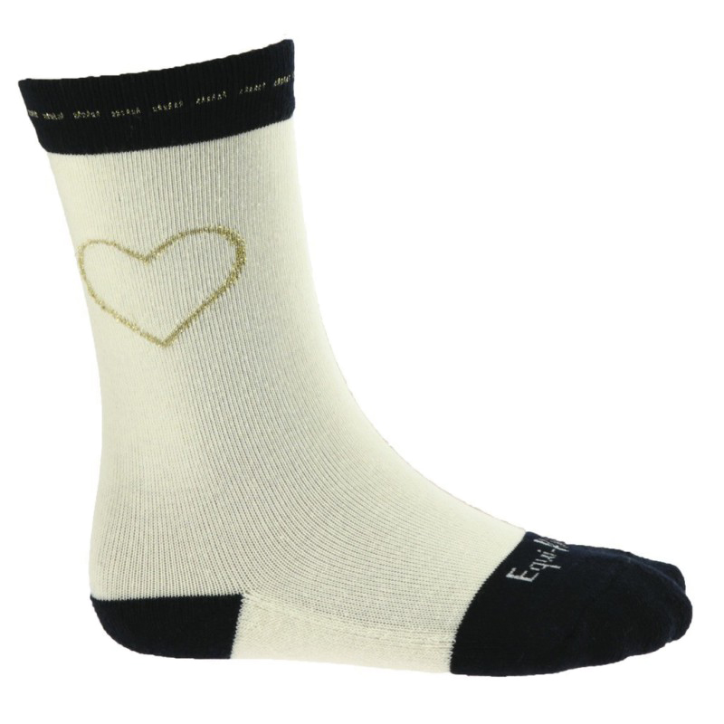 Chaussettes EQUIKIDS Coeur