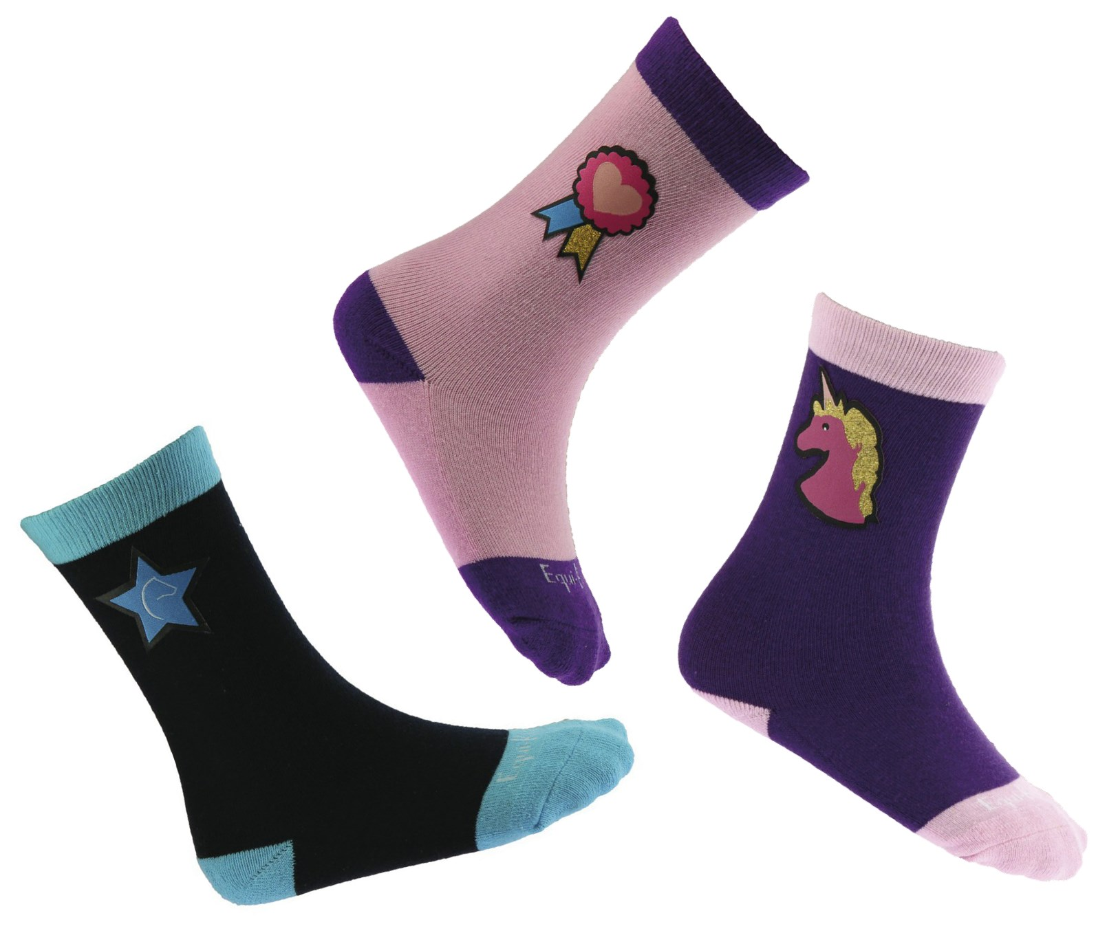 Chaussettes EQUIKIDS Funny3