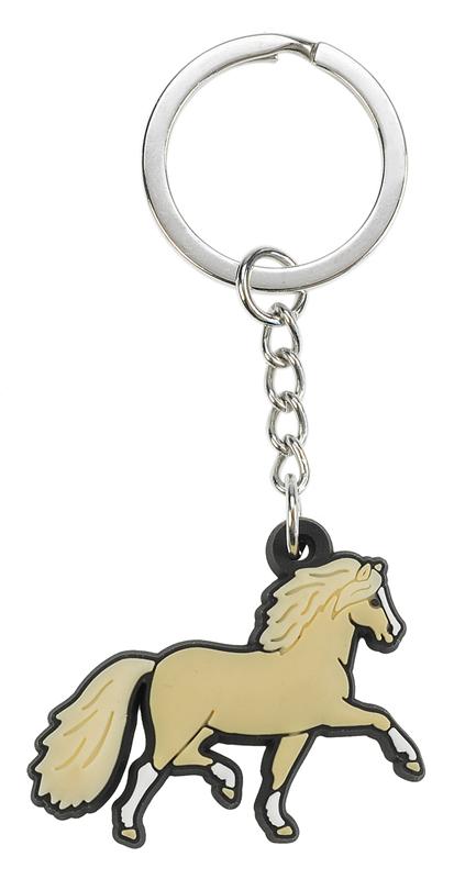 Porte-clés souple poney