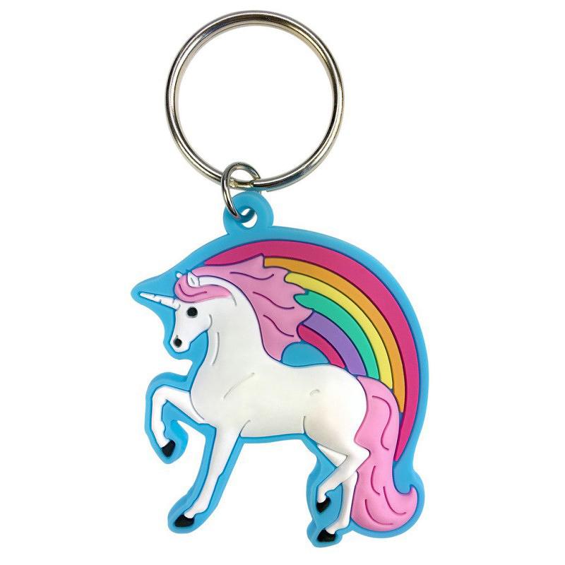 Porte-clés souple Licorne