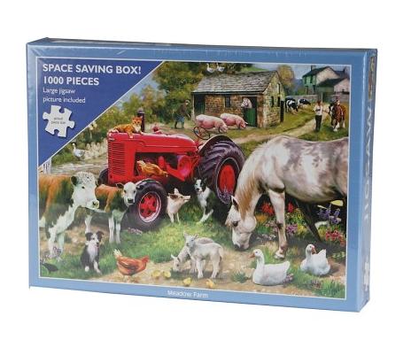Puzzle 1000 pièces Animaux de la ferme